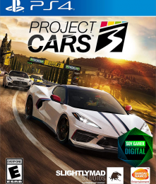 DIGITAL Project Cars 3 Ps4