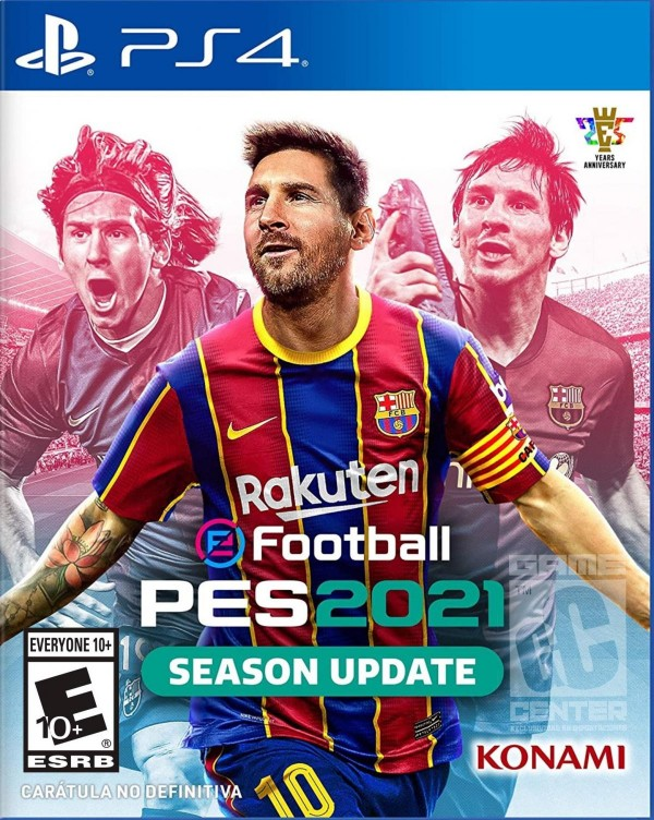 Pro Evolution Soccer 2021 Ps4