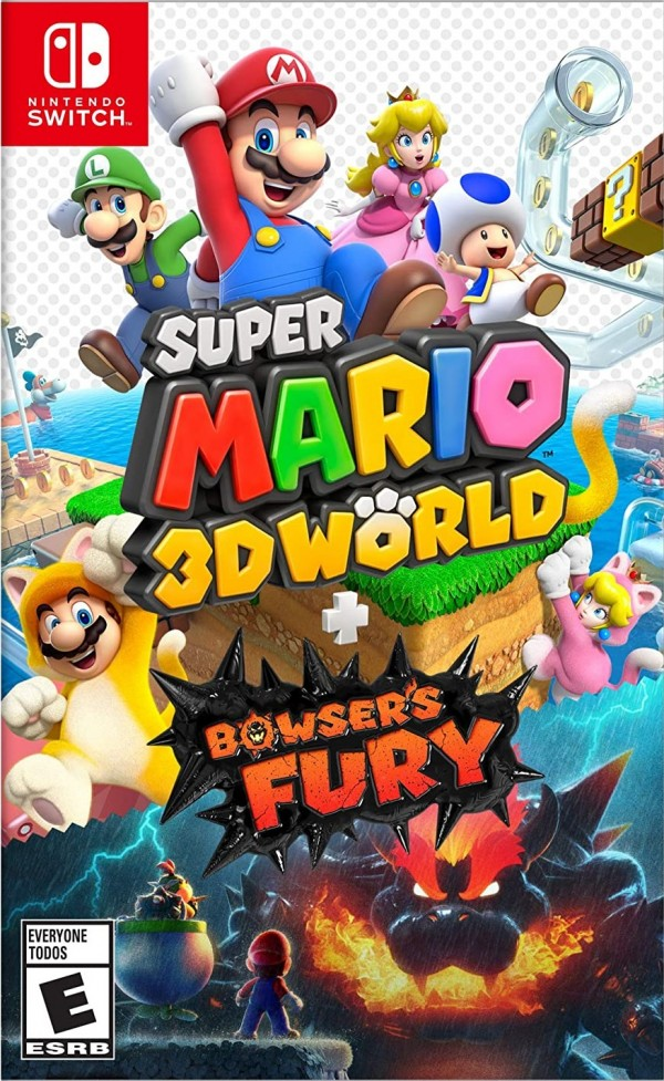Super Mario 3D World Bowsers Fury